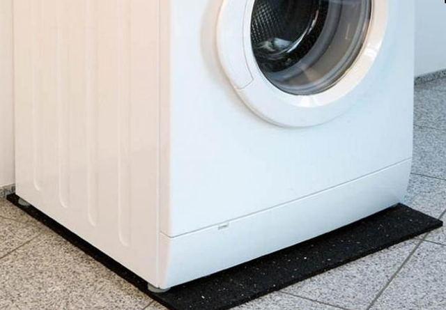 Коврик под стиральную машину: какая антивибрационная защита бывает?