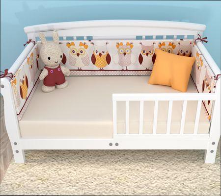 Защитные бортики для детской кровати от падения. Советы по выбору