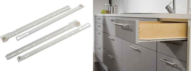 Выдвижные ящики для кухни: разновидности и популярные системы