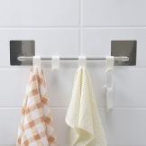 Вешалки для полотенец в ванной: как сделать настенные крючки своими руками?