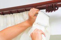 Как погладить тюль после стирки: глажка без утюга, правила для органзы