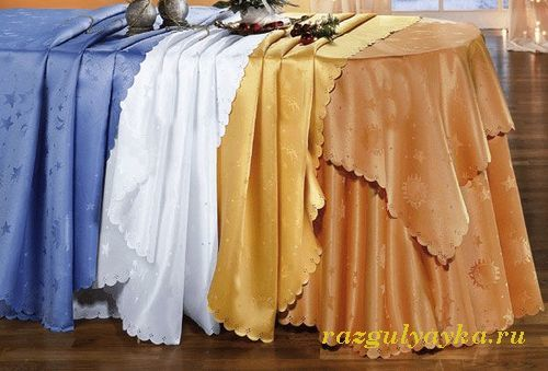 Одноразовая скатерть для стола: белая, мятная, в рулонах, как выбрать