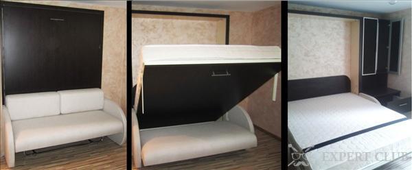 Кровать трансформер: Функциональность и удобство в интерьере