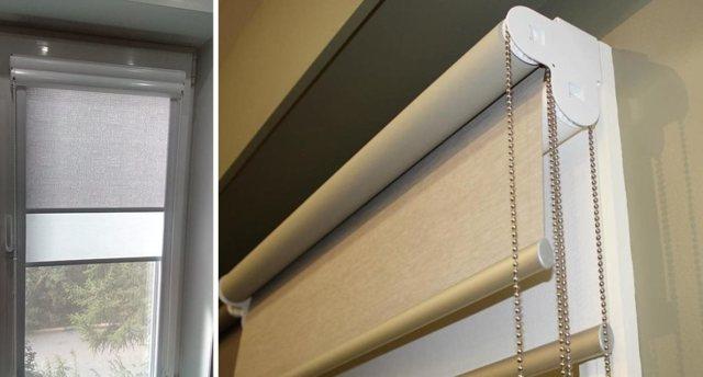Ткань для рулонных штор: тюль, Альфа, Скрин и другие материалы для штор