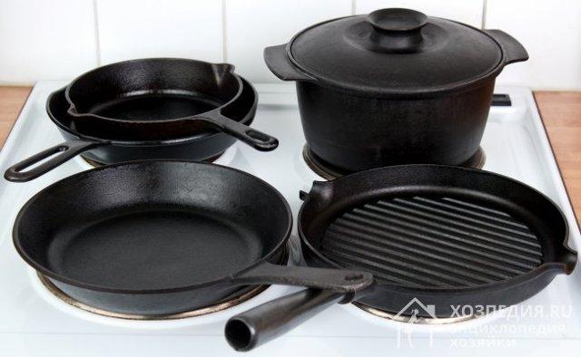 Как быстро очистить чугунную сковороду от ржавчины в домашних условиях: как убрать коррозию из чугуна, как восстановить, шлифовка