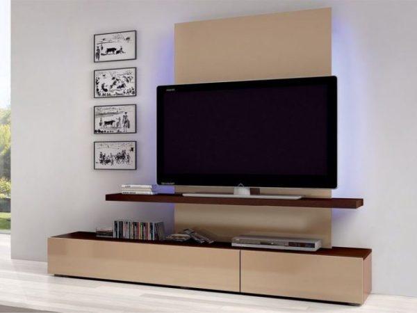 Делаем полку под ТВ на стену своими руками: пошаговая инструкция