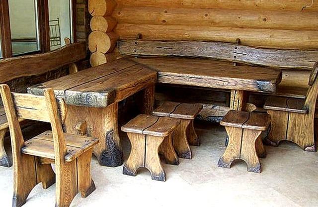 Мебель под старину: приемы изготовления с фото-примерами