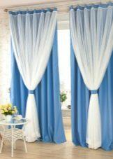 Занавески в зал: ночные, двойные, современный стиль, примеры дизайна