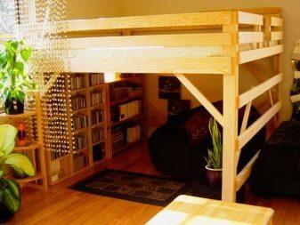 Кровать-чердак своими руками: подробная инструкция с фото
