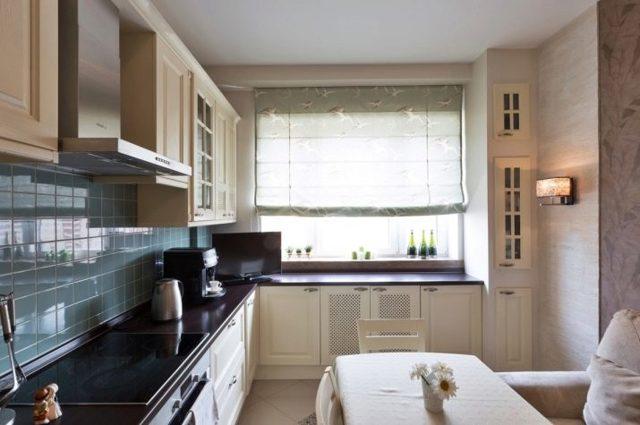 Дизайн кухни 10 кв.м. с диваном: Идеи интерьера, планировка, фото