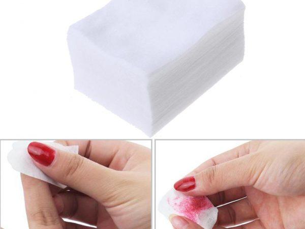 Безворсовые салфетки для маникюра: чем заменить для гель-лака дома?