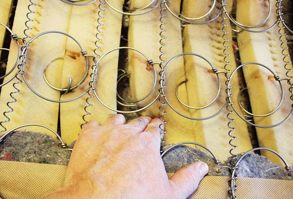 Ремонт пружинных матрасов: инструкция, советы, фото и видео