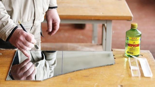Как разрезать зеркало в домашних условиях: необходимые инструменты