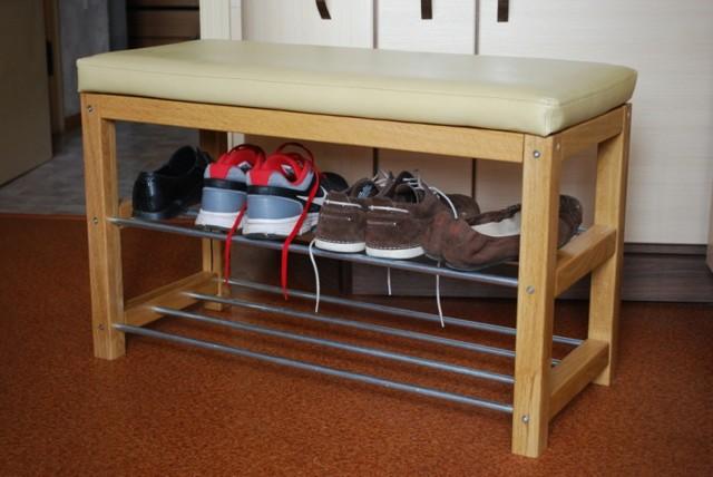 Полка для обуви своими руками: фото-идеи с описанием