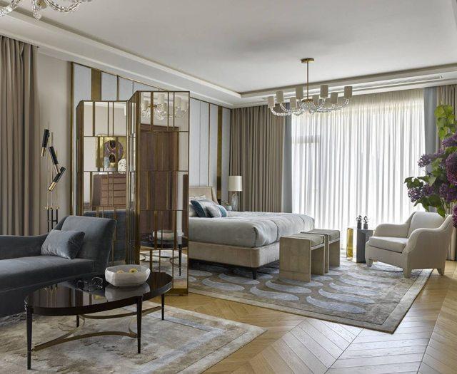 Как совместить спальню и гостиную: Планировка, выбор кровати.
