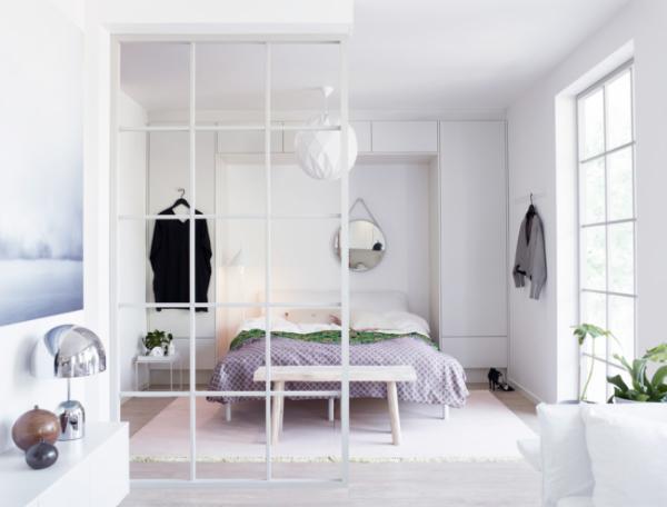 Спальня-гостиная: возможные варианты разделения и зонирования