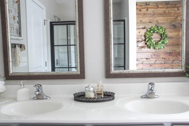 Зеркало в ванной комнате. Оригинальные варианты оформления
