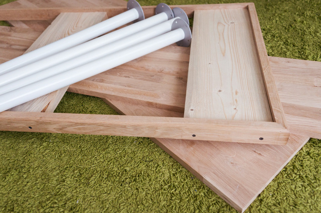 Способы крепления ножек стола при изготовлении своими руками