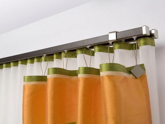 Настенные карнизы для штор: какие виды бывают, как выбрать, доступные размеры