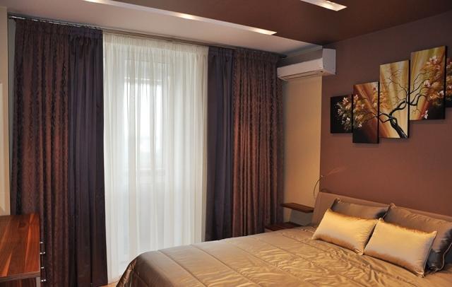 Занавески в спальню: современный дизайн, варианты и оригинальные идеи