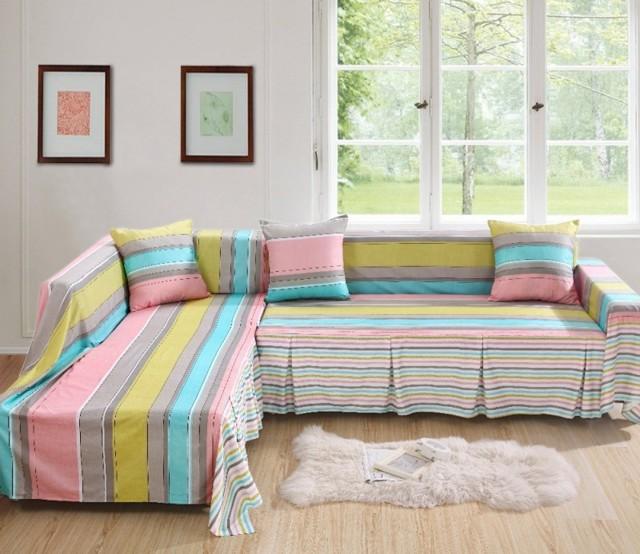 Чехол на диван своими руками, декорирование и практичность: 75 фото дизайна