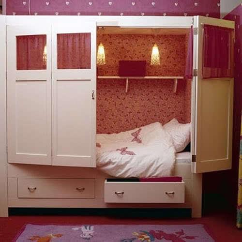 Выбираем детскую откидную кровать: виды кроватей, фото идеи.