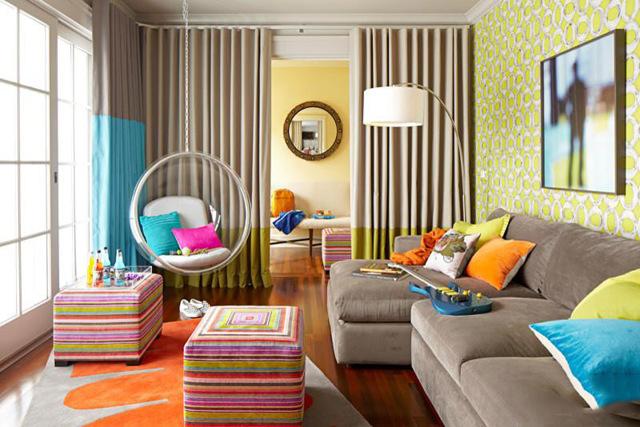 Детская мебель для маленькой комнаты: идеи для зонирования