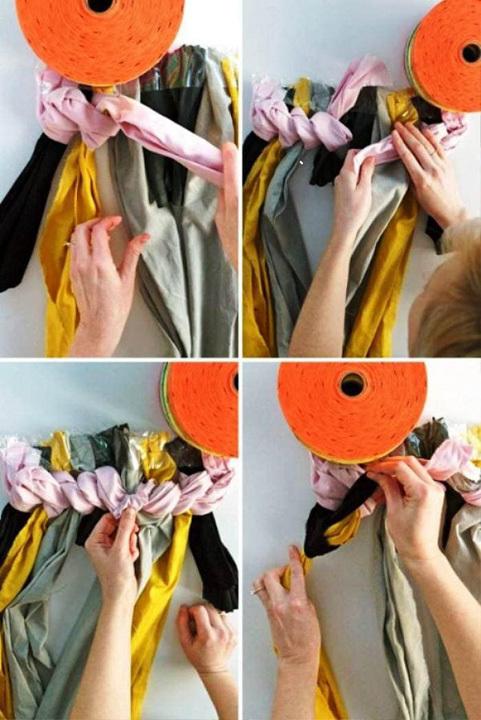 Руководство для начинающих: как сделать коврик из старых футболок своими руками?