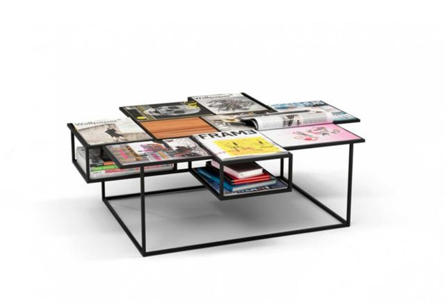 Высота журнального столика: выбор размера и дизайна в 75 фото