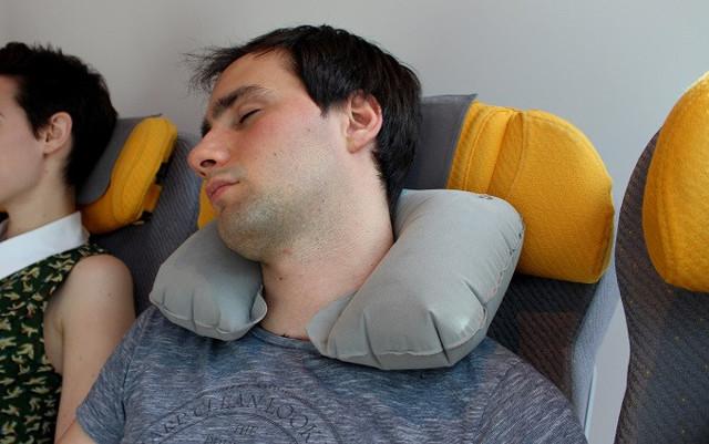 Ортопедическая подушка в дорогу своими руками