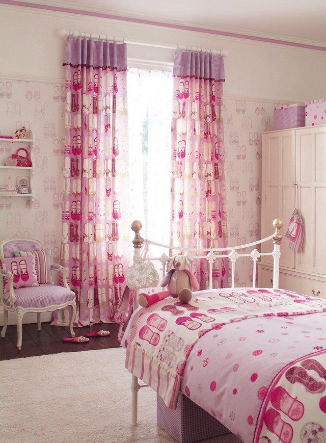 Шторы в комнату подростка девочки: как выбрать дизайн для спальни девушки