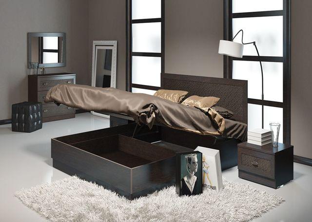 Выбираем двуспальную кровать. Виды моделей, особенности, фото