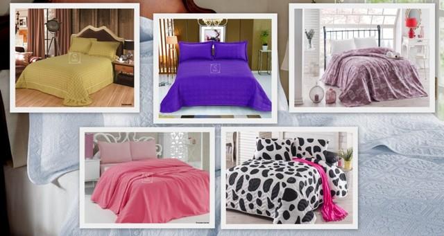Покрывало на кровать: подбираем дизайн, материал и размер