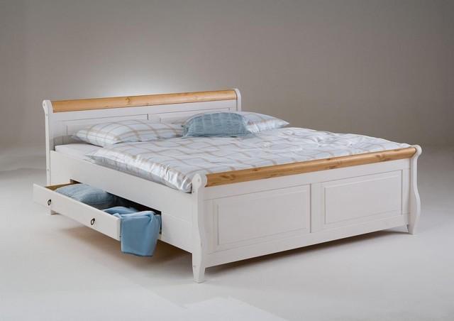 Двуспальная кровать с ящиками: преимущества и недостатки модели