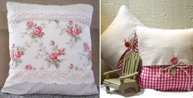 Подушки в стиле Прованс: цвета, формы, материалы, рисунки и декор