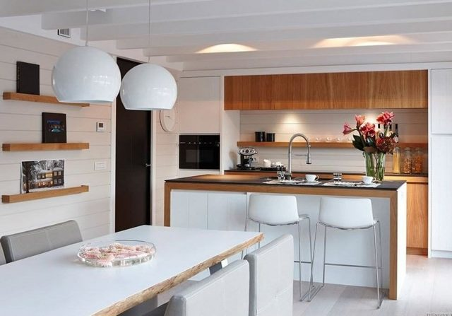 Как оформить обеденную зону на кухне: лучшие идеи с фото
