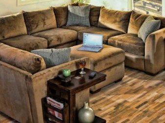 Искусственная замша для обивки мебели: Особенности и свойства