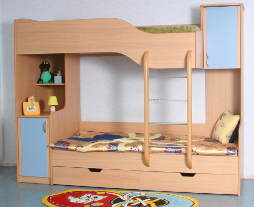 Как правильно выбрать двухъярусную кровать для ребенка