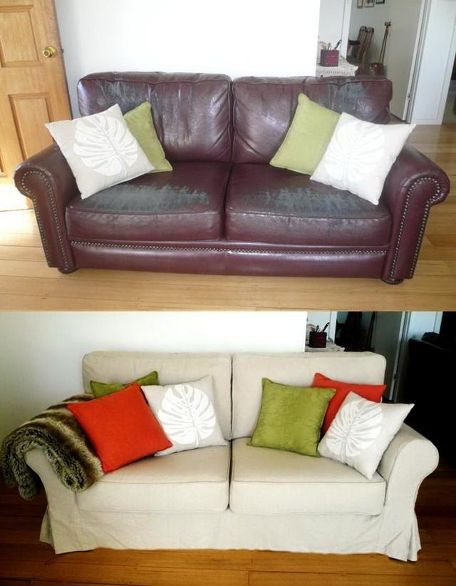 Новая обивка дивана своими руками: интересные идеи с фото