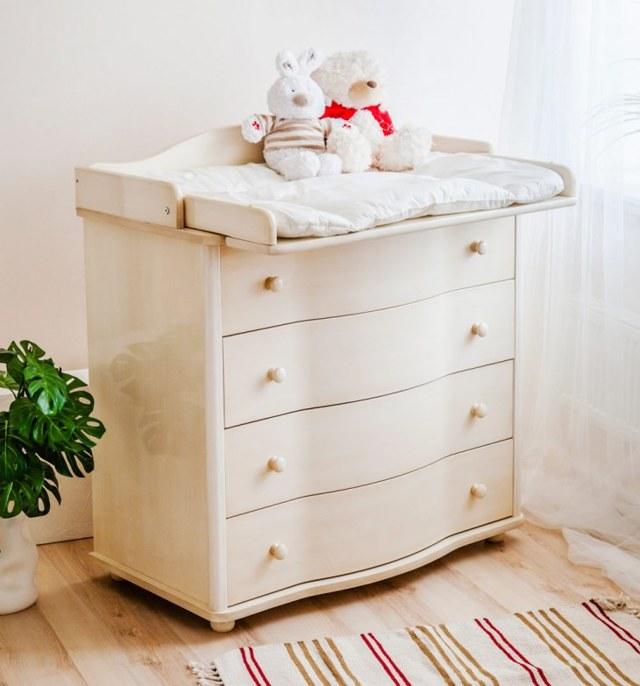 Пеленальный столик: дизайн, конструкция и декор своими руками