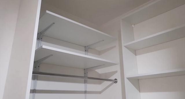 Гардеробная комната своими руками: варианты изготовления с фото