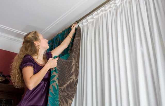 Как подшить шторы и тюль: способы укоротить, как подшивать без машинки