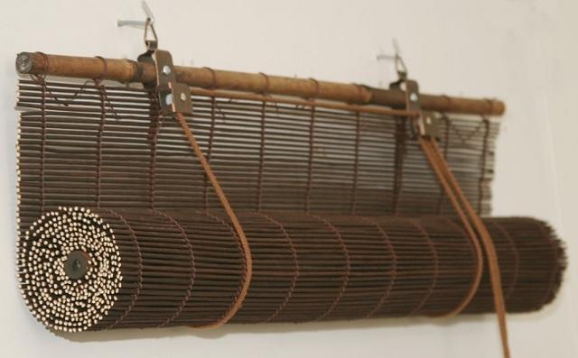 Бамбуковые шторы: модели на окна и дверные проемы, описание, примеры, фото