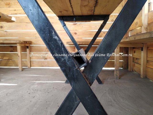 Деревянный стол в беседку: идеи изготовления своими руками