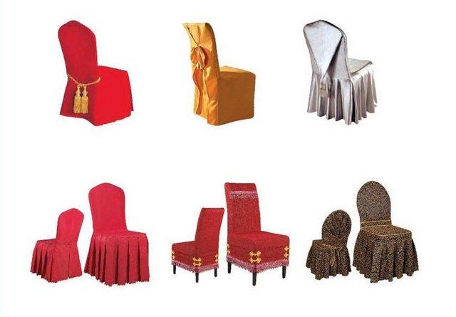 Чехлы на стулья своими руками: преимущества и недостатки