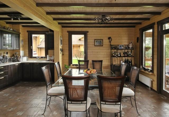 Дизайнерская мебель из дерева в современных стилях интерьера.