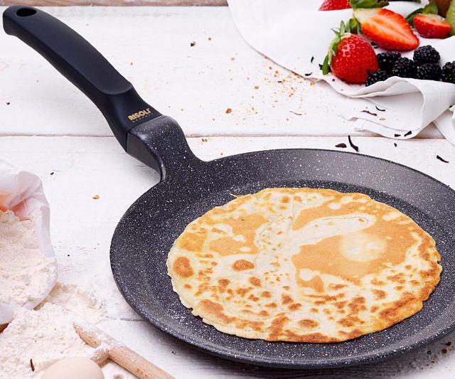 Сковорода с каменным антипригарным покрытием: что это такое, плюсы и минусы, какие сковородки из камня лучше