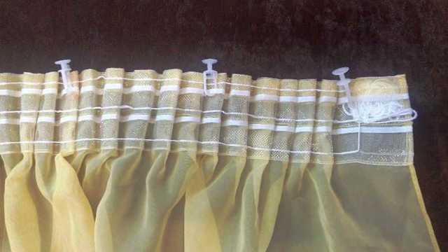 Как пришить шторную ленту к тюли: пошаговая инструкция, как сшить тюль с тесьмой