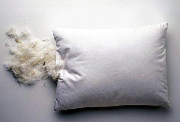Как правильно постирать перьевую подушку в домашних условиях