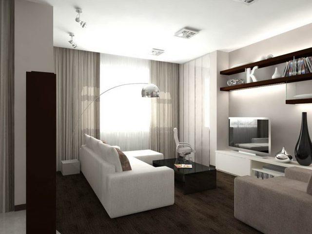 Шторы в зал: модели в современном стиле, комбинированные, новая коллекция